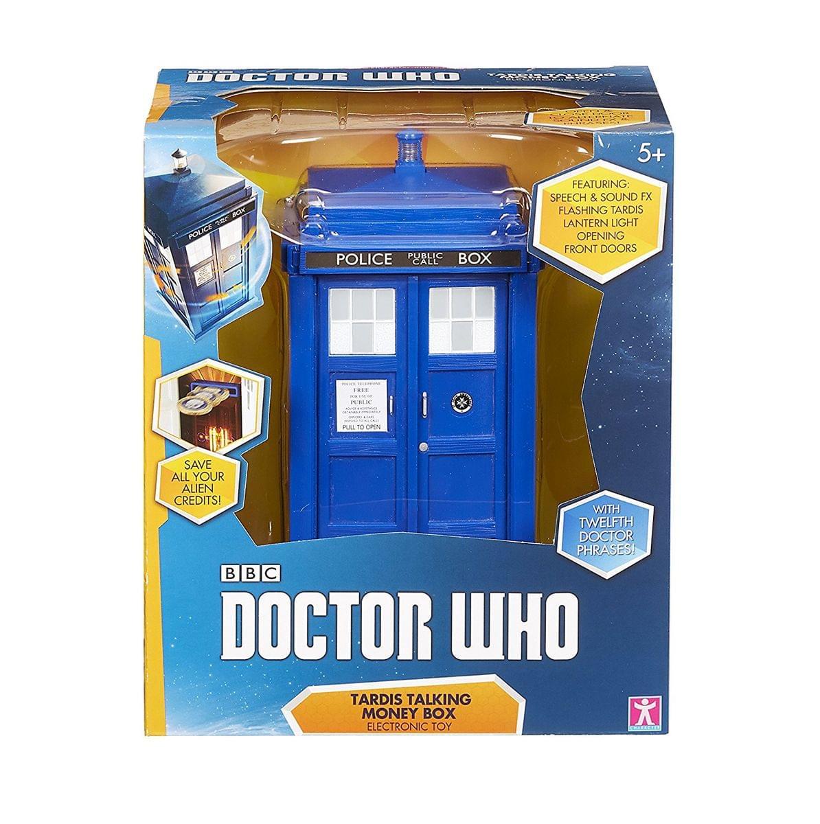 Underground Toys DR163 Doctor Who Tardis Ceramic Money Bank