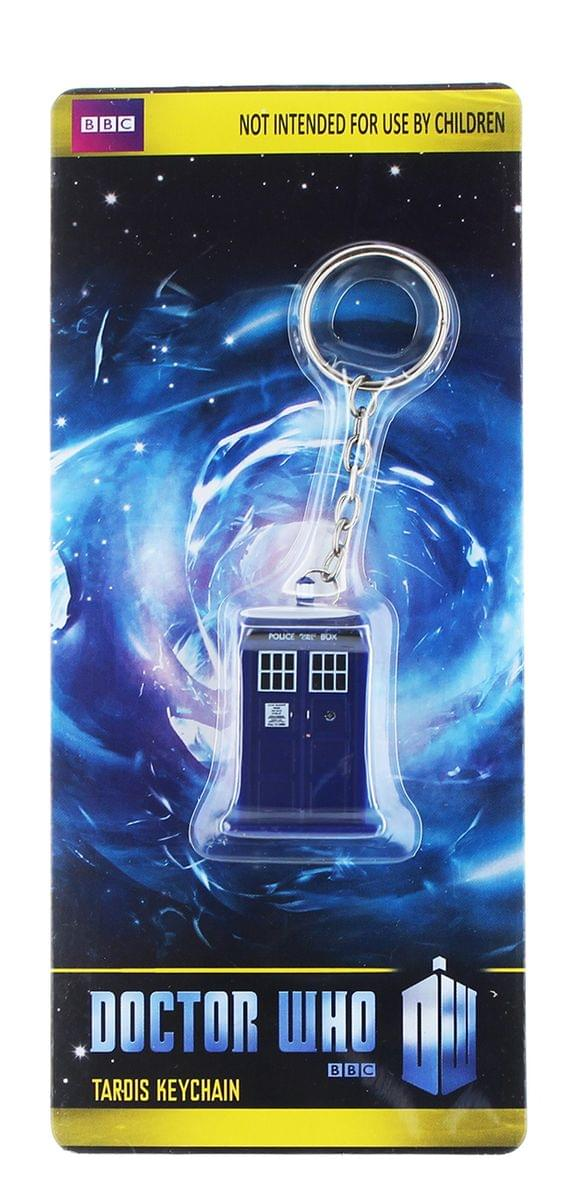 Doctor Who TARDIS Figural Keychain