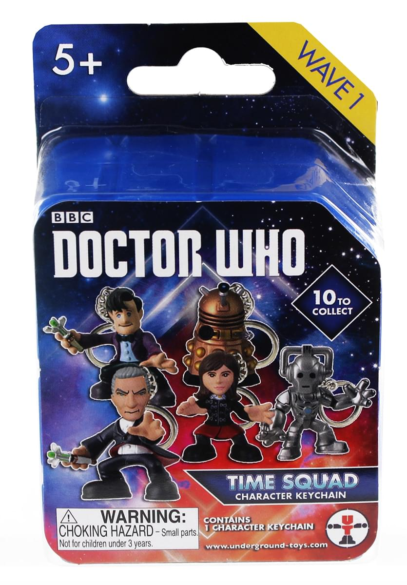 Doctor Who: Blind Boxed Time Squad Character Keychain