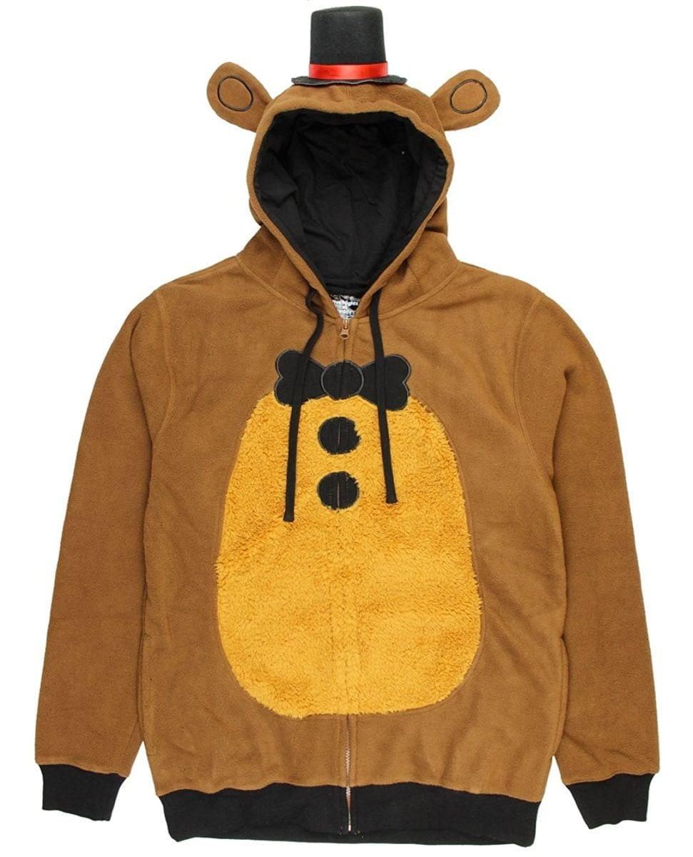 Five Nights at Freddy's Adult Freddy Fazbear Hoodie: Small