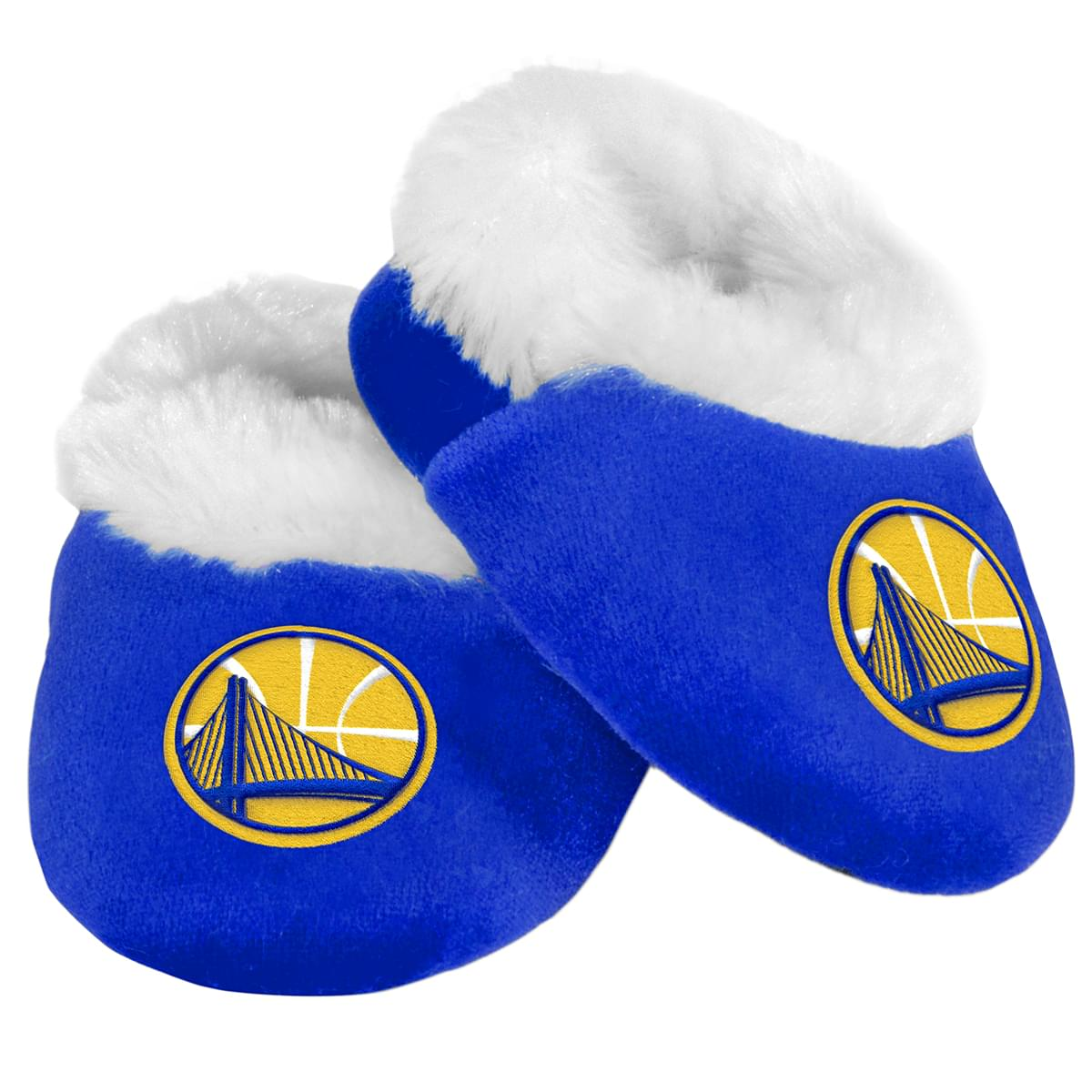8baeb4ece9f Golden State Warriors NBA Baby Bootie Slipper