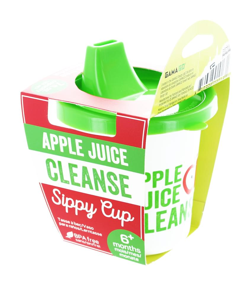 Apple Juice Cleanse Sippy Cup