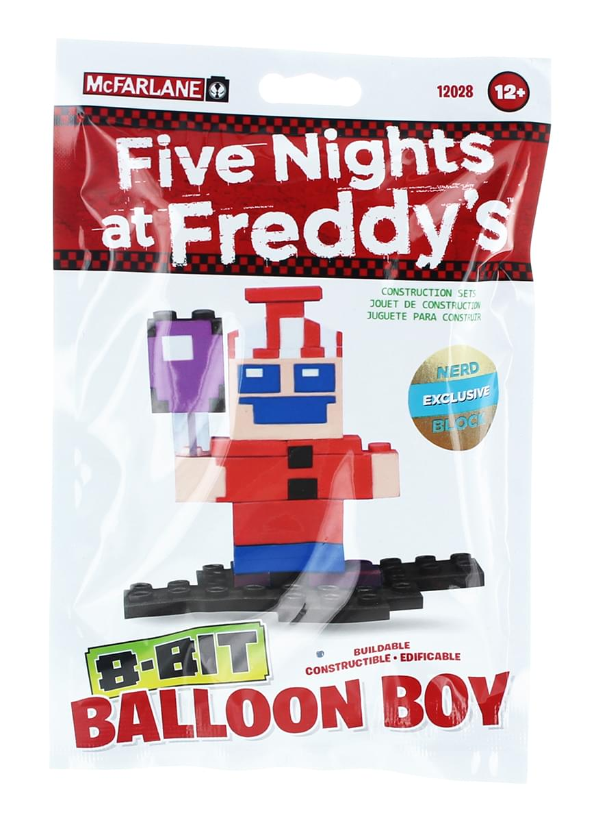 Five Nights At Freddy's Buildable 8-Bit Balloon Boy
