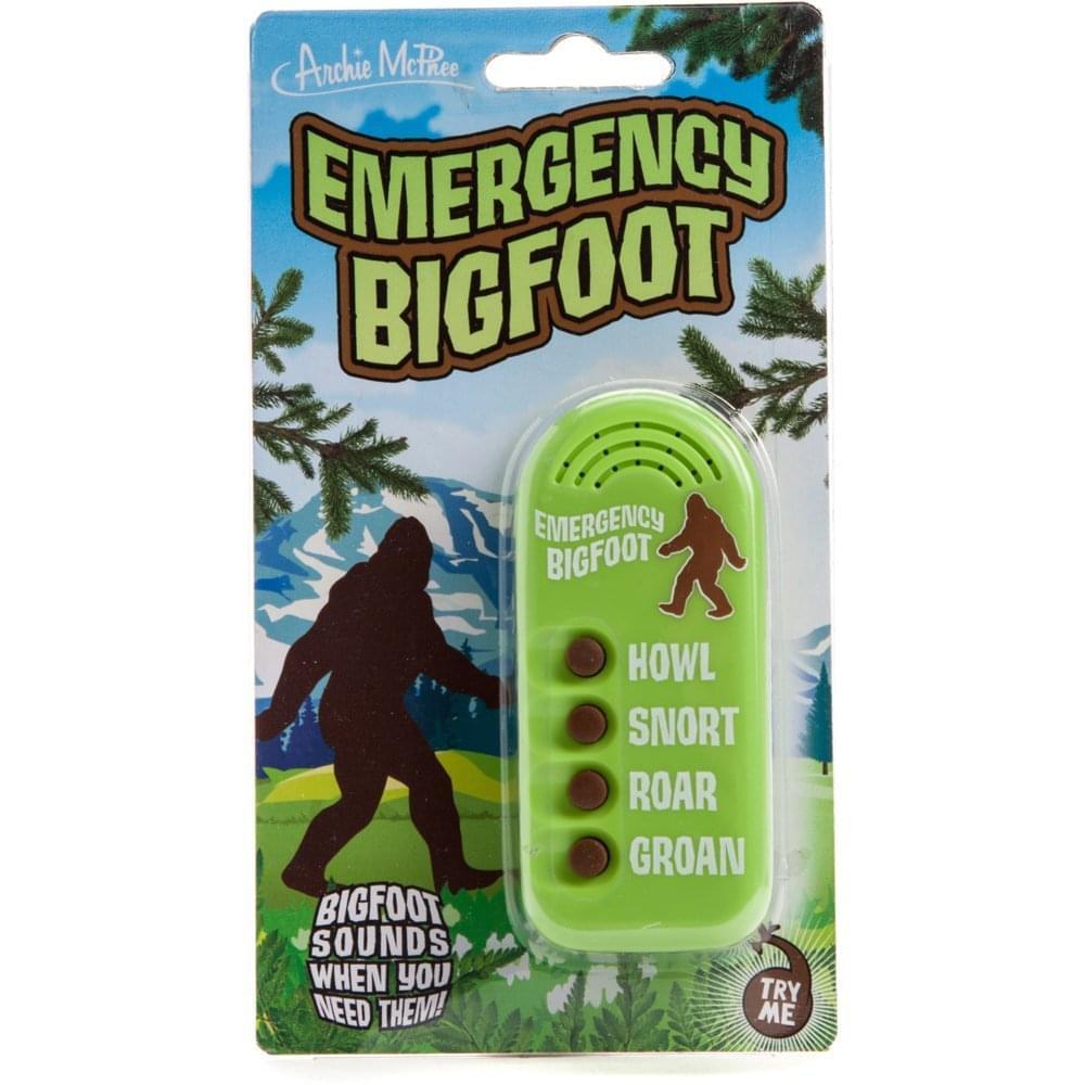 Emergency Bigfoot Electronic Noisemaker