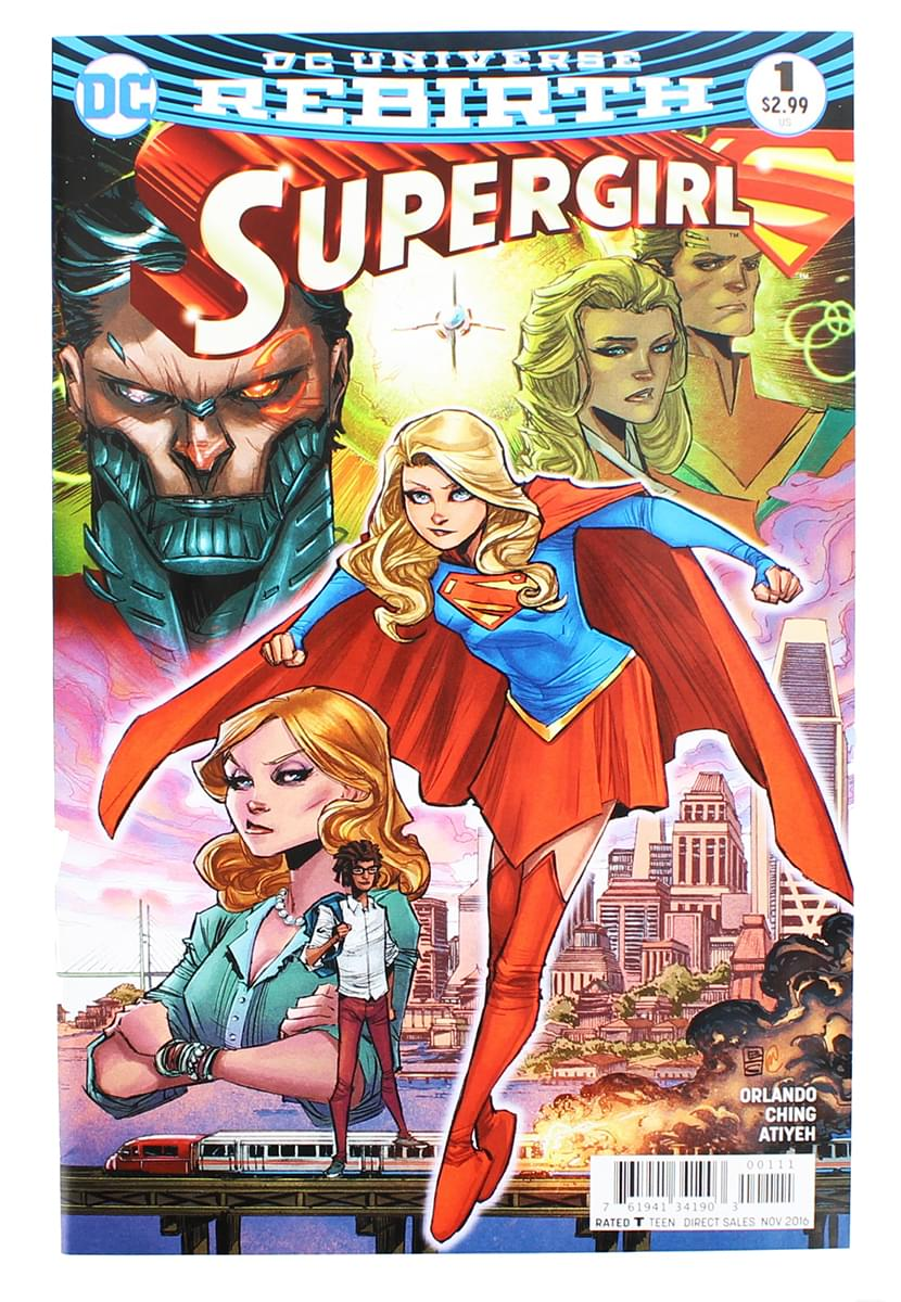 DC Universe Rebirth Supergirl Comic Book Issue # 1