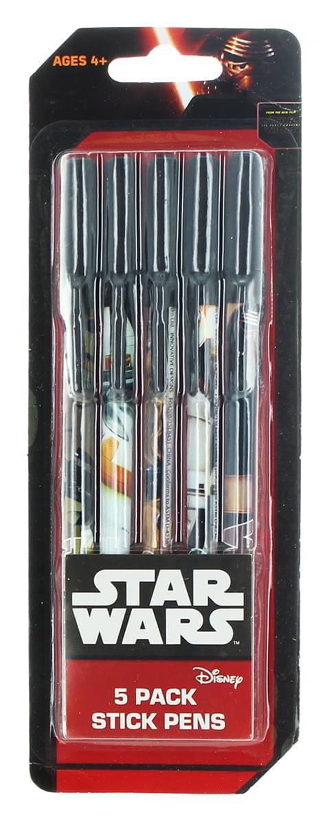Star Wars Stick Pen 5 Pack
