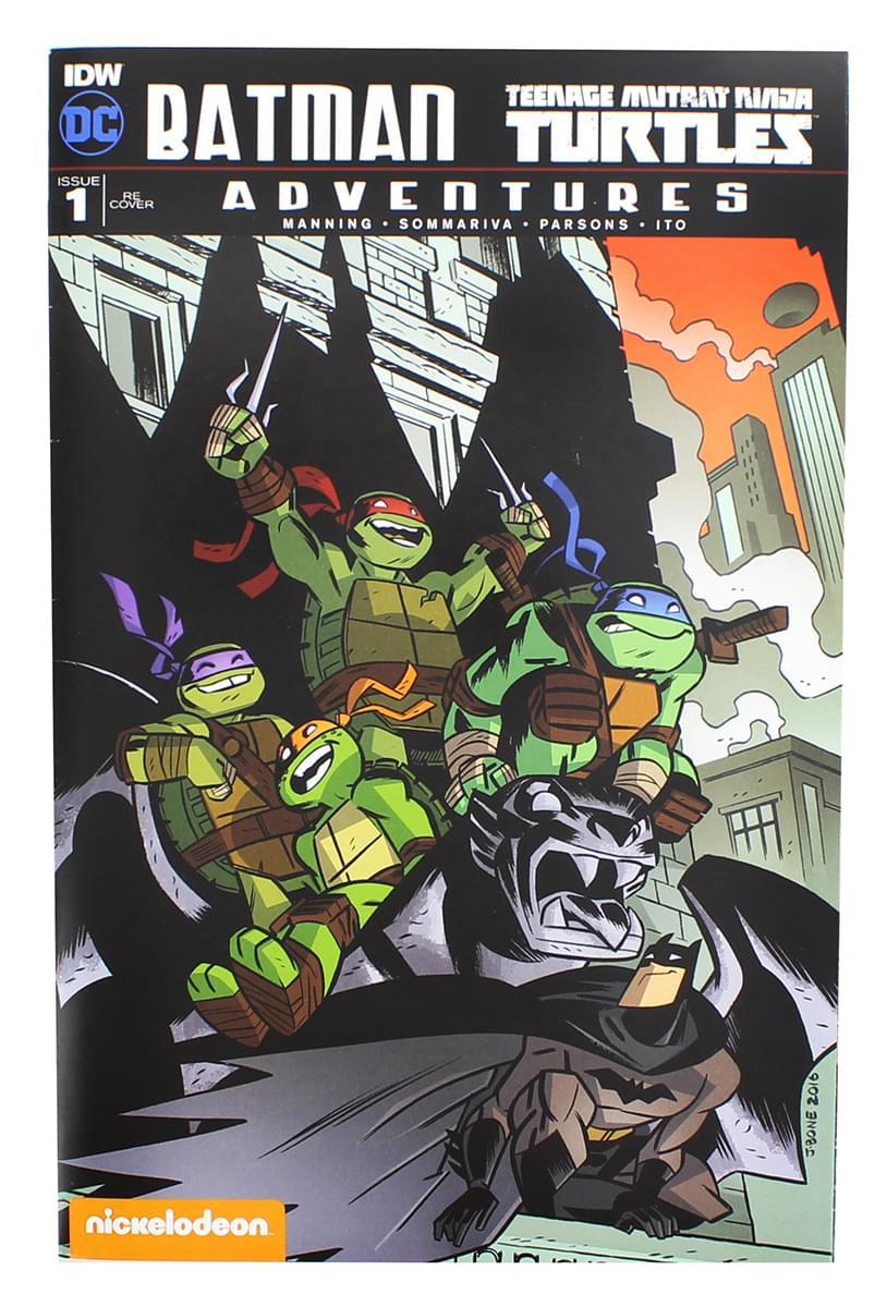 Batman & Teenage Mutant Ninja Turtles Adventures Comic Book Issue #1
