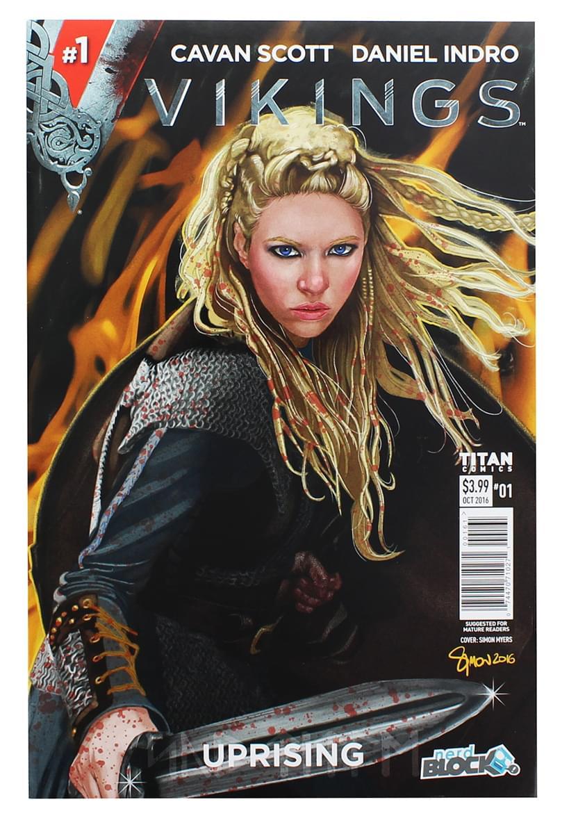 Vikings Uprising #1 Comic Book (Nerd Block Cover)