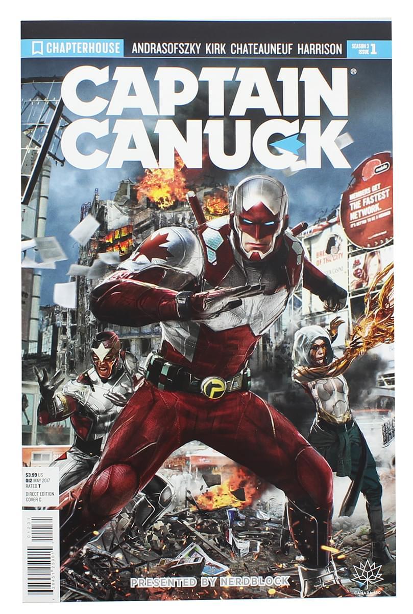 Captain Canuck #1 Comic Book (Nerd Block Cover)
