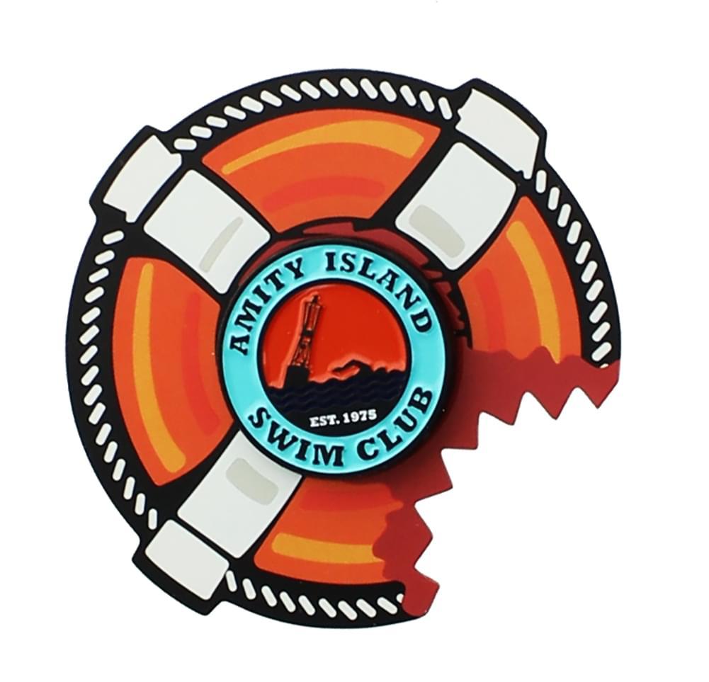 Amity Island Swim Club (Jaws) Enamel Collector Pin