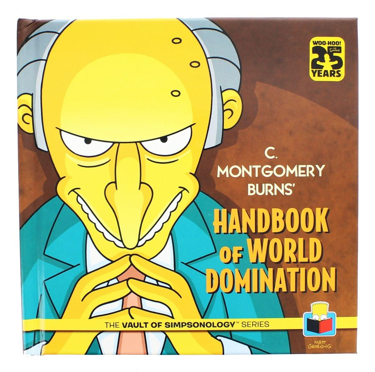 The Simpsons: C. Montgomery Burns' Handbook of World Domination
