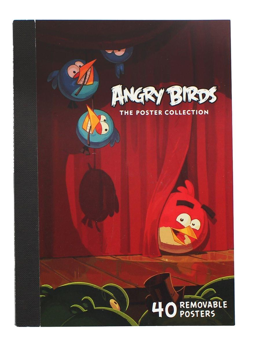 Angry Birds Poster Collection: 40 Removable Posters
