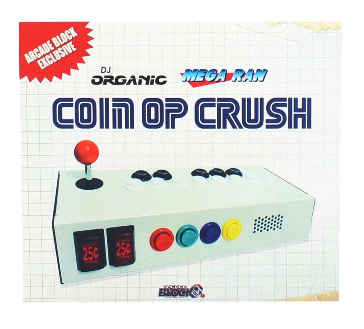 DJ Organic Mega Ran Coin Op Crush Music CD (Arcade Block Exclusive)