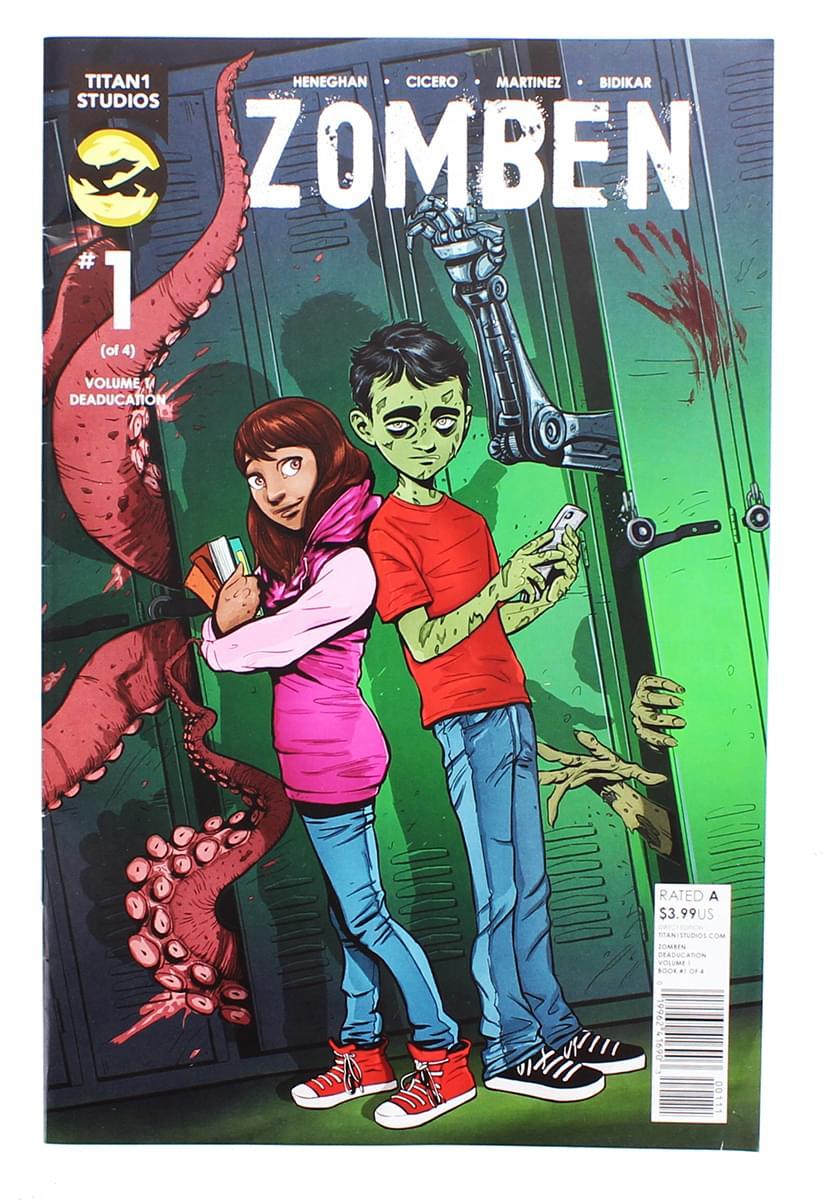 Zomben #1 Comic Book