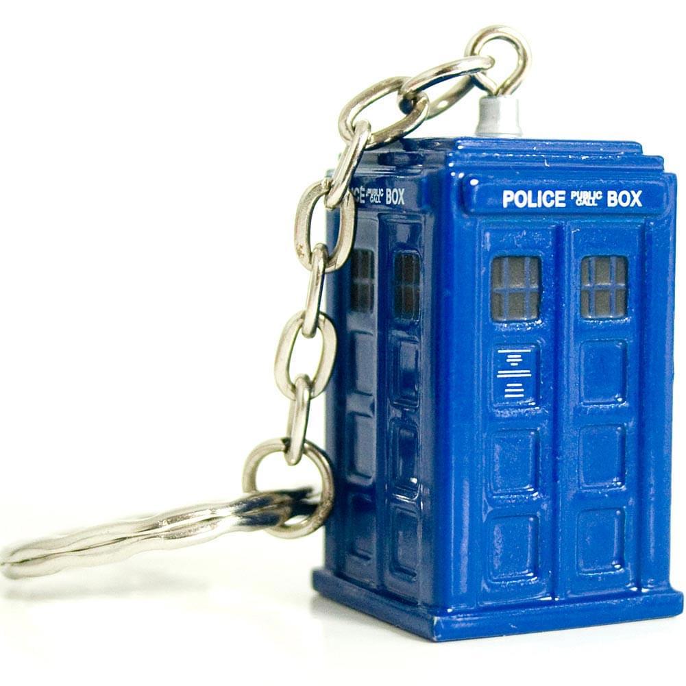 Doctor Who Diecast TARDIS Keychain
