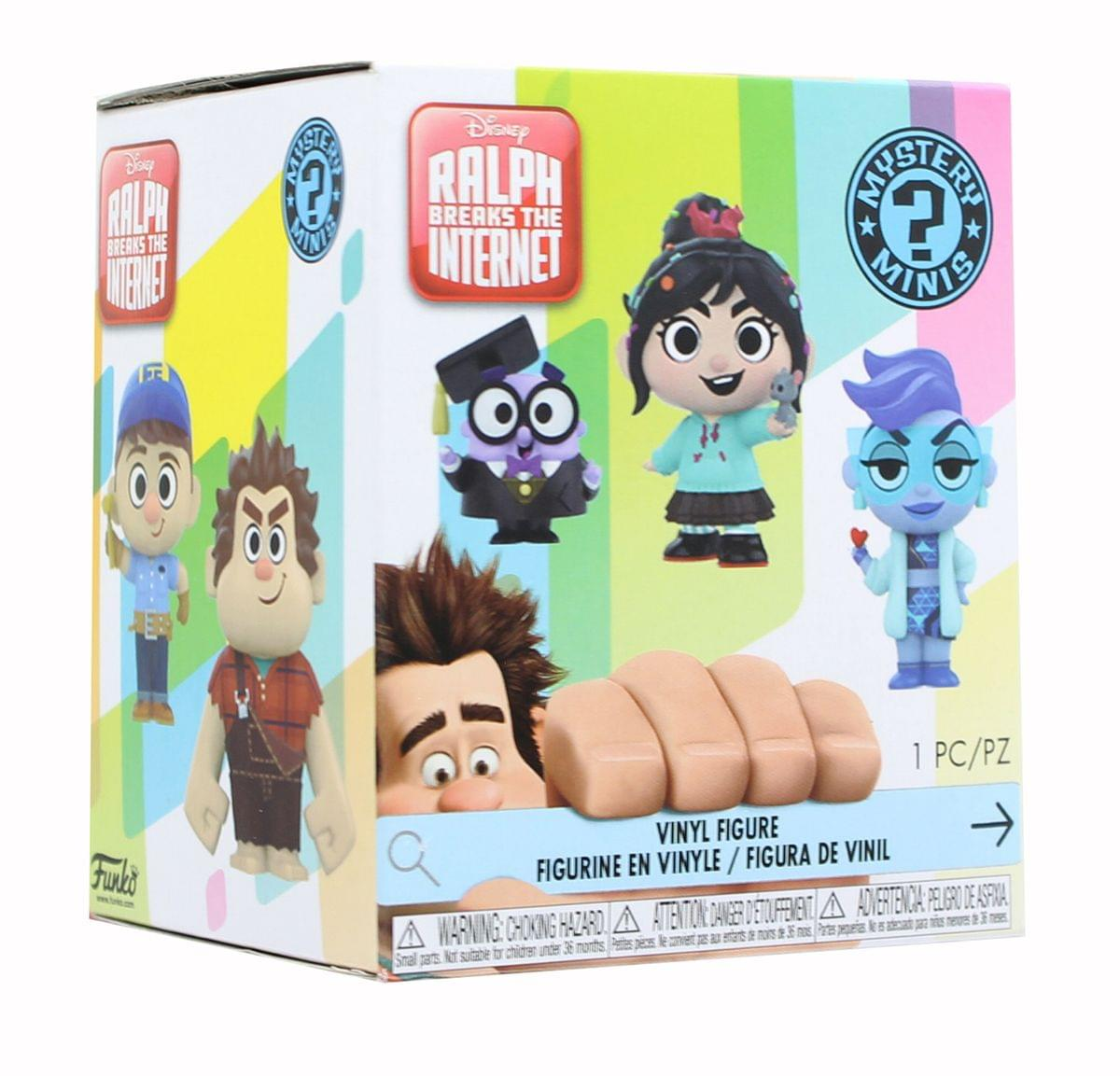 Wreck-It Ralph 2 Funko Blind Boxed Mystery Minis - One Random