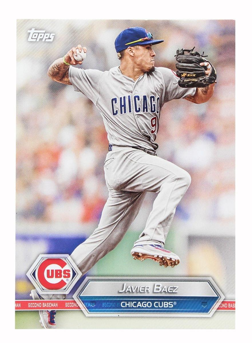 Chicago Cubs MLB Crate Exclusive Topps Card #48 - Javier Baez