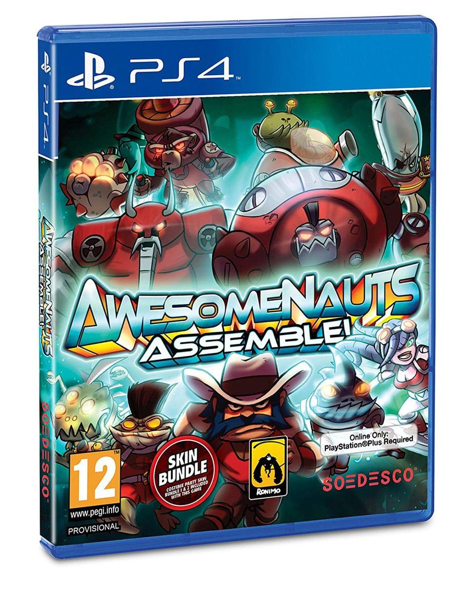 Awesomenauts Assemble! Video Game - PS4