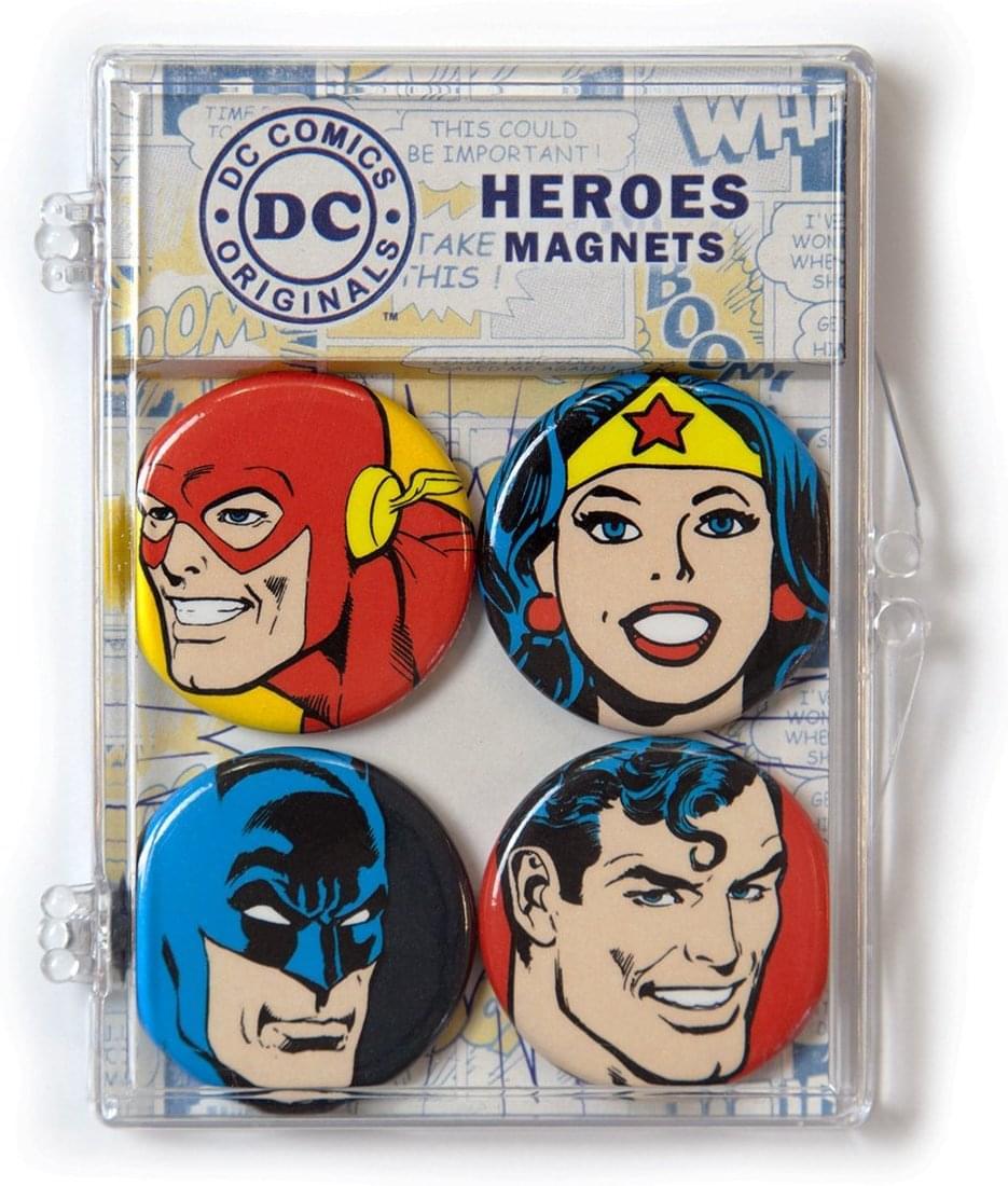 DC Comics Heroes Magnet 4-Pack