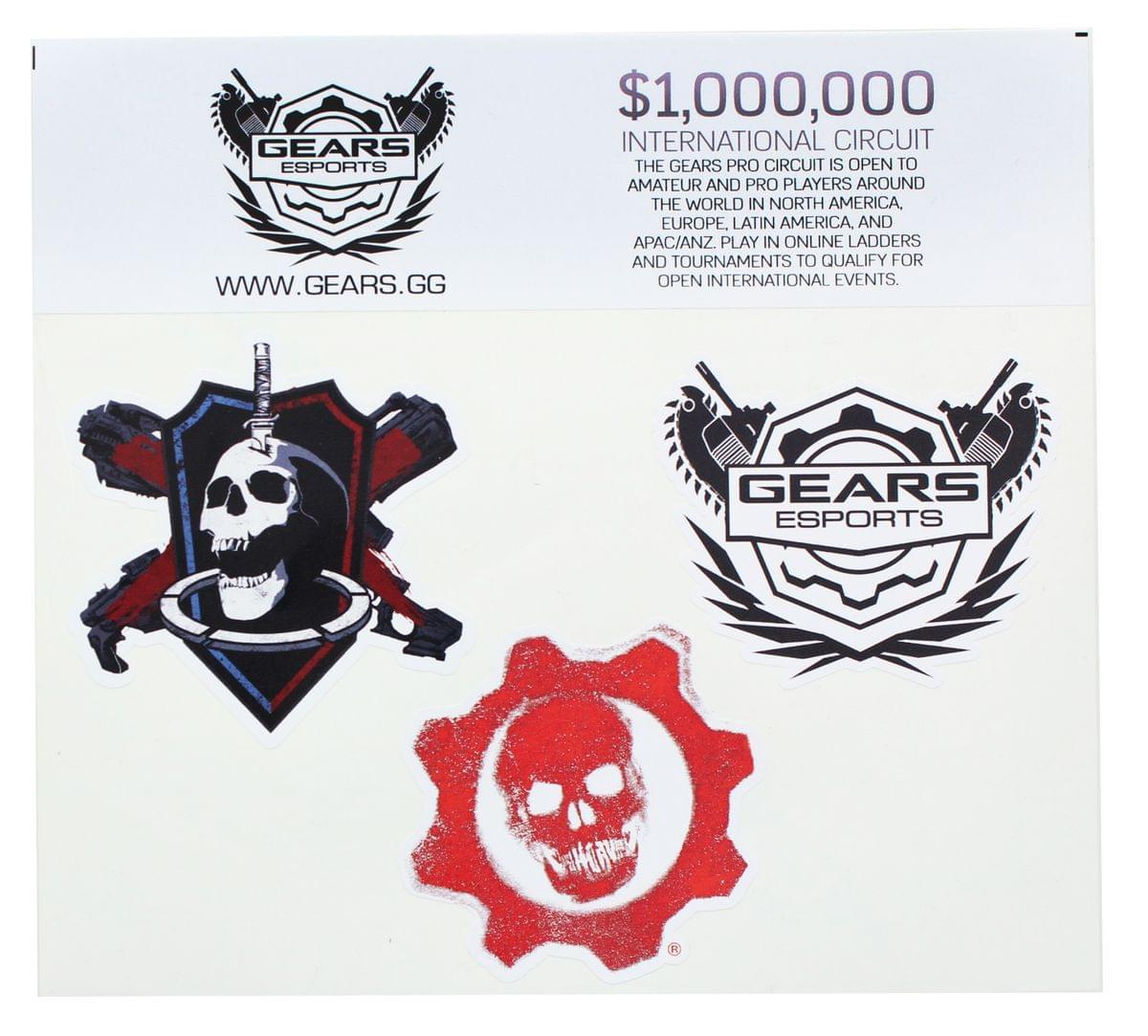 Gears of War 4 Vinyl Stickers