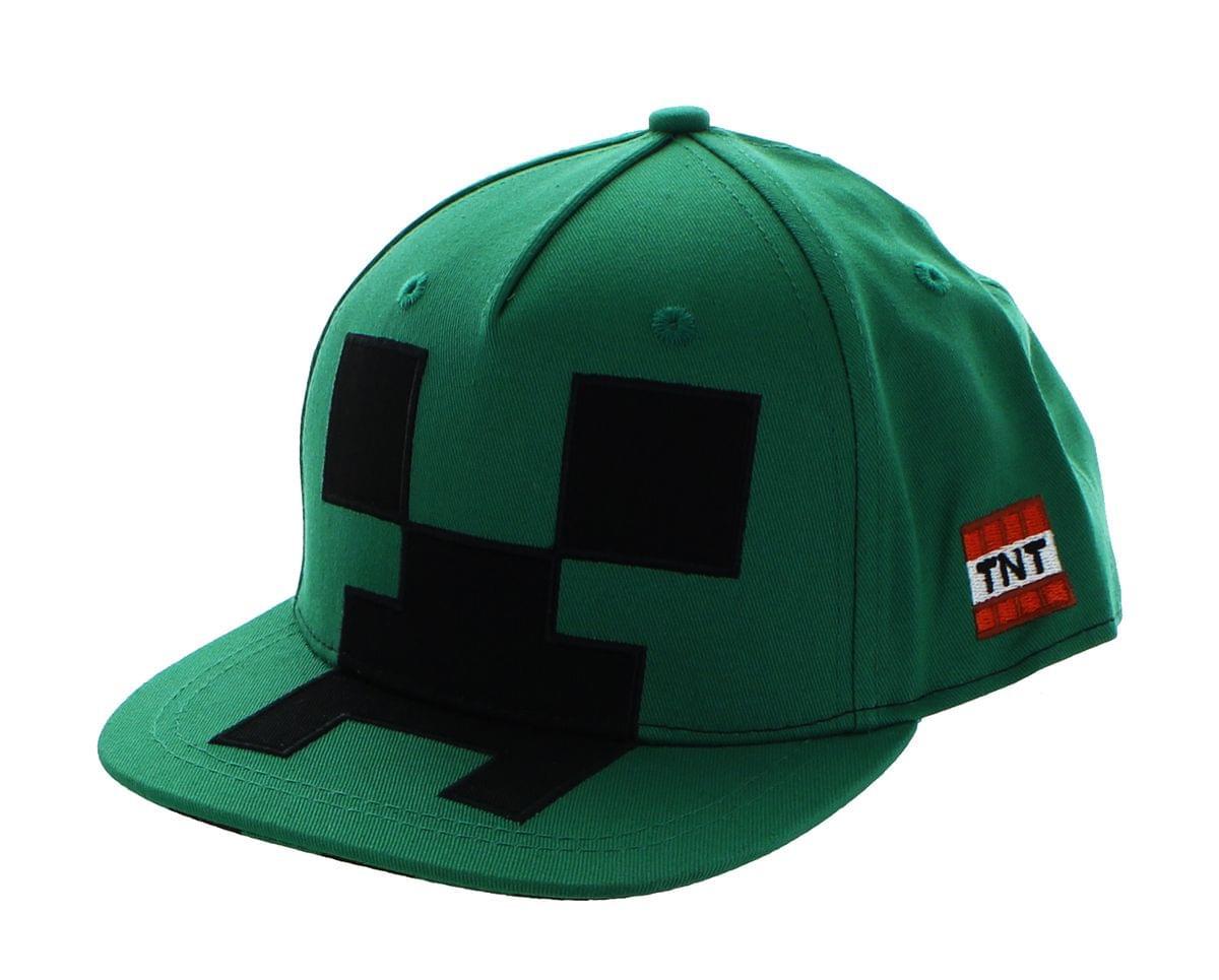 Minecraft Creeper Mob Snapback Hat 889343061370  f692b55589