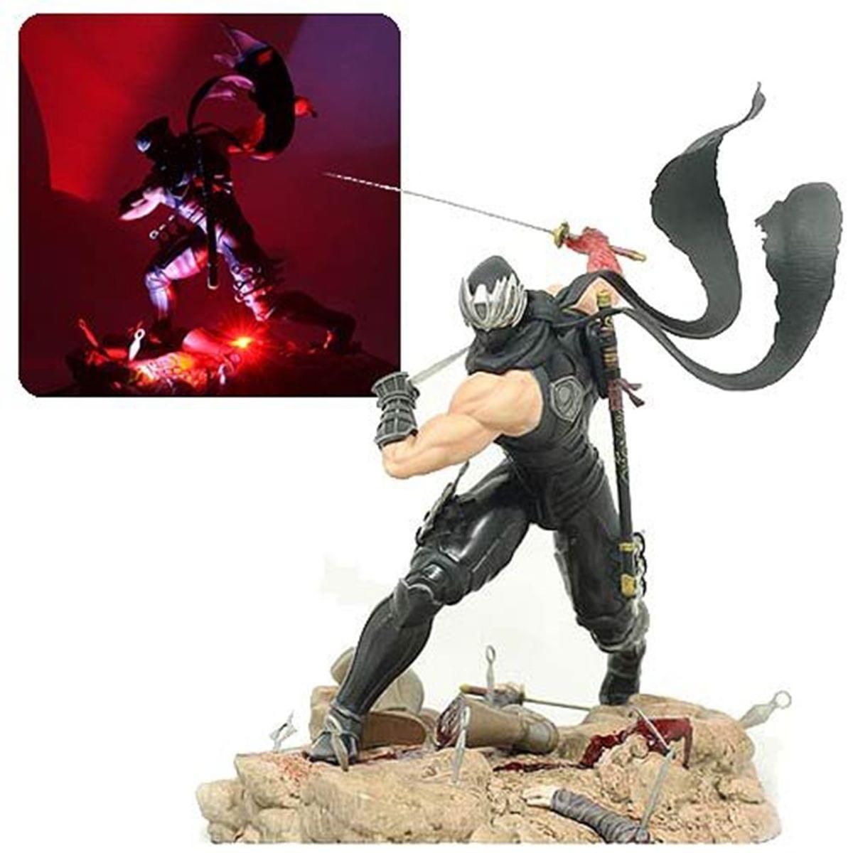 Details About Ninja Gaiden 3 Ryu Hayabusa 13 Resin Statue Bludgeoning Staff Variant