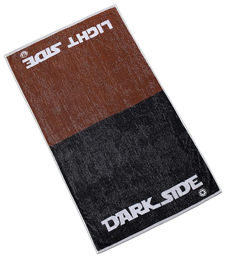Star Wars Light Side Vs Dark Side Bath Towel