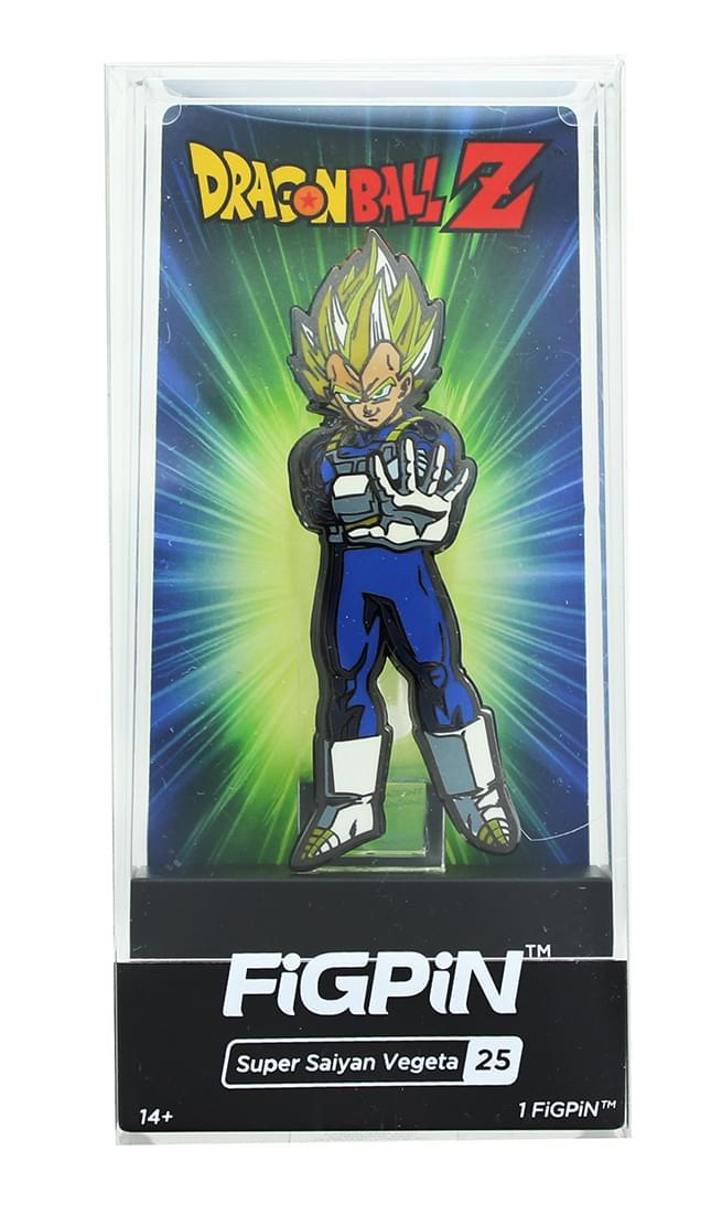 Dragon Ball Z 3-Inch Collectible Enamel FiGPiN - Super Saiyan Vegeta