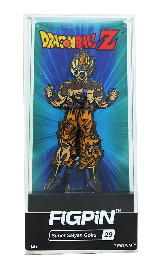 Dragon Ball Z 3-Inch Collectible Enamel FiGPiN - Super Saiyan Goku