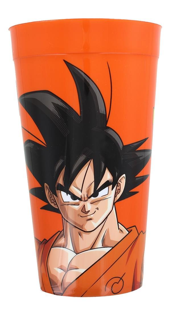 Dragon Ball Z Resurrection Goku 16oz Orange Plastic Cup