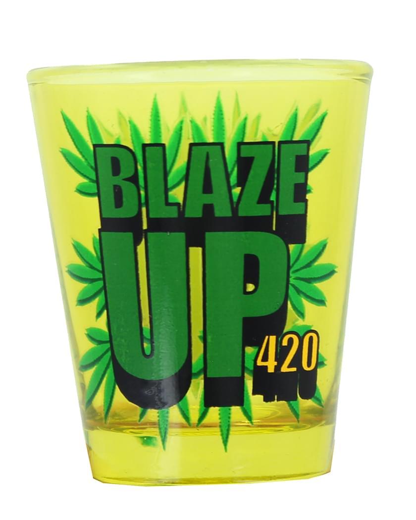 Blaze Up Shot Glass