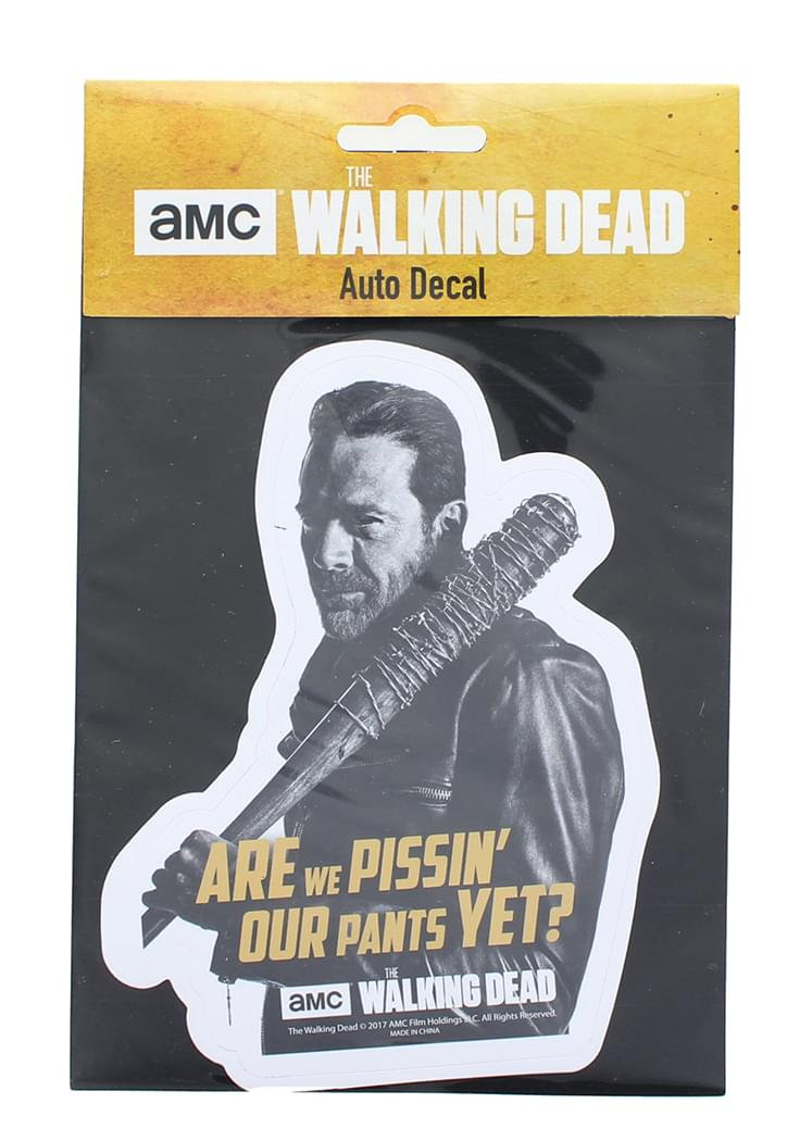 The Walking Dead Negan Auto Decal