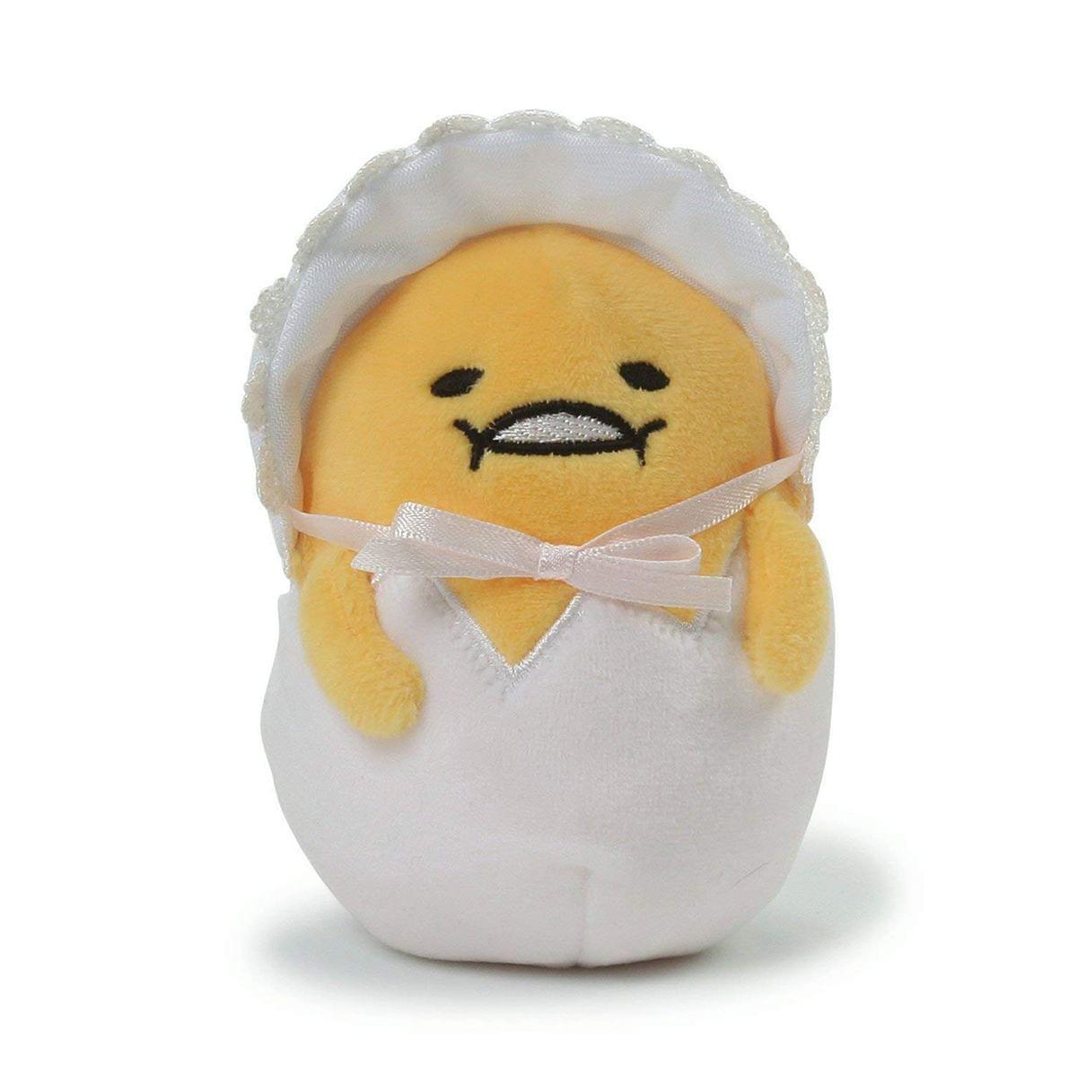 Baby Gudetama the Lazy Egg 4.5-Inch Plush
