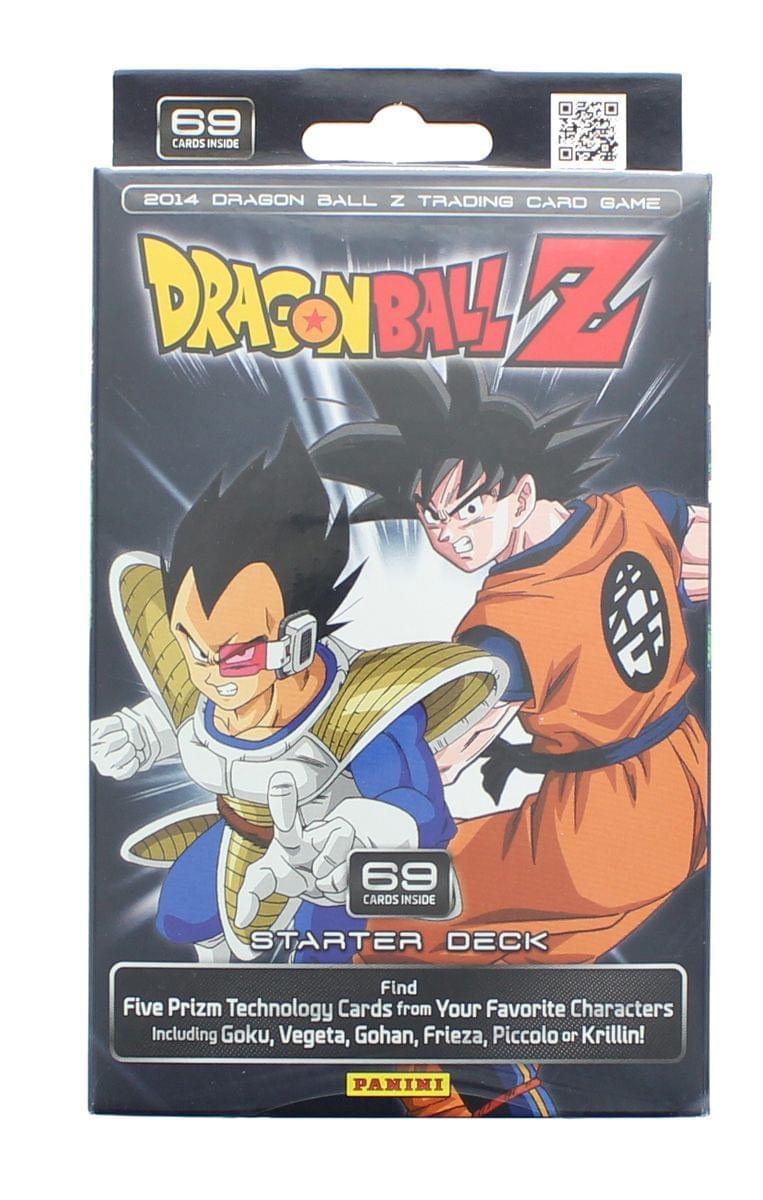 Dragon Ball Z TCG Trading Card Game Starter Deck - 69 Cards