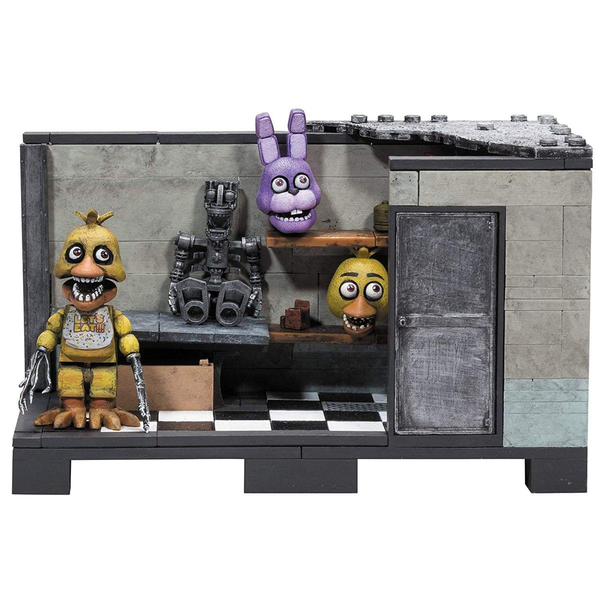 Five Nights At Freddy's Classic Series Backstage 153-Piece Medium Construction Set