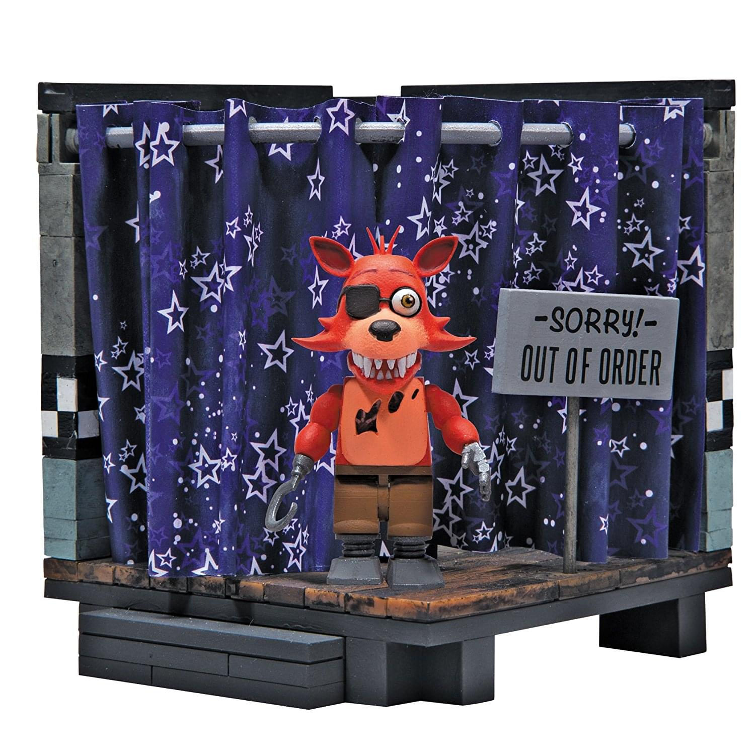 Five Nights At Freddy's Classic Series Pirate Cove 94-Piece Small Construction Set