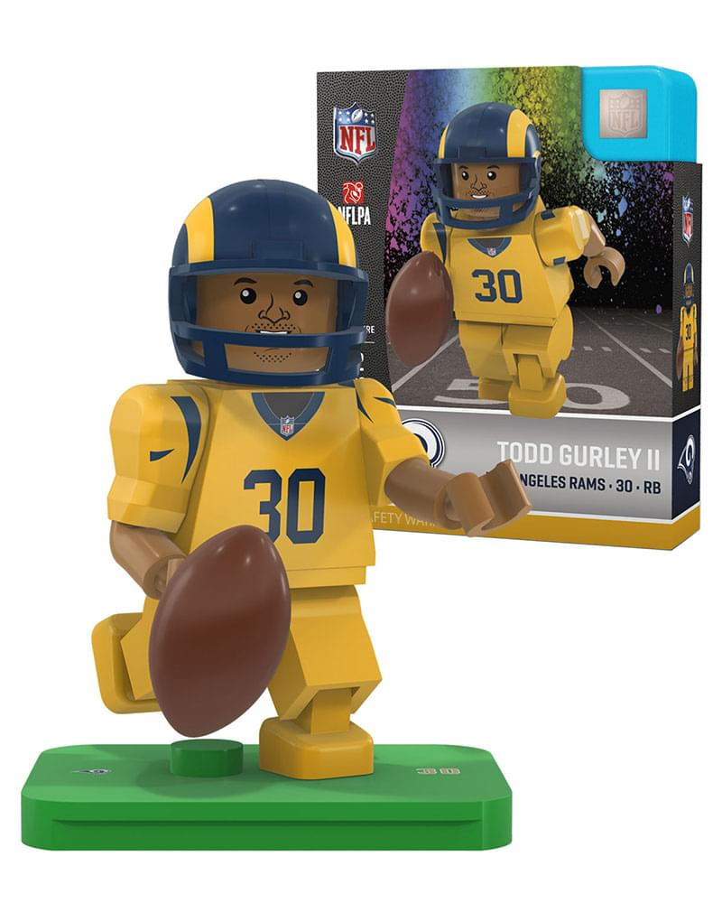 OYO Sports NFL Los Angeles Rams Todd Gurley G4 Color Rush Yellow ... a1caa7f9d15