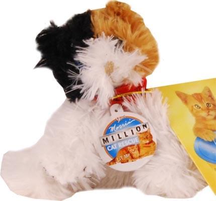9 Lives Morris' Million Cat Rescue Plush Raggles