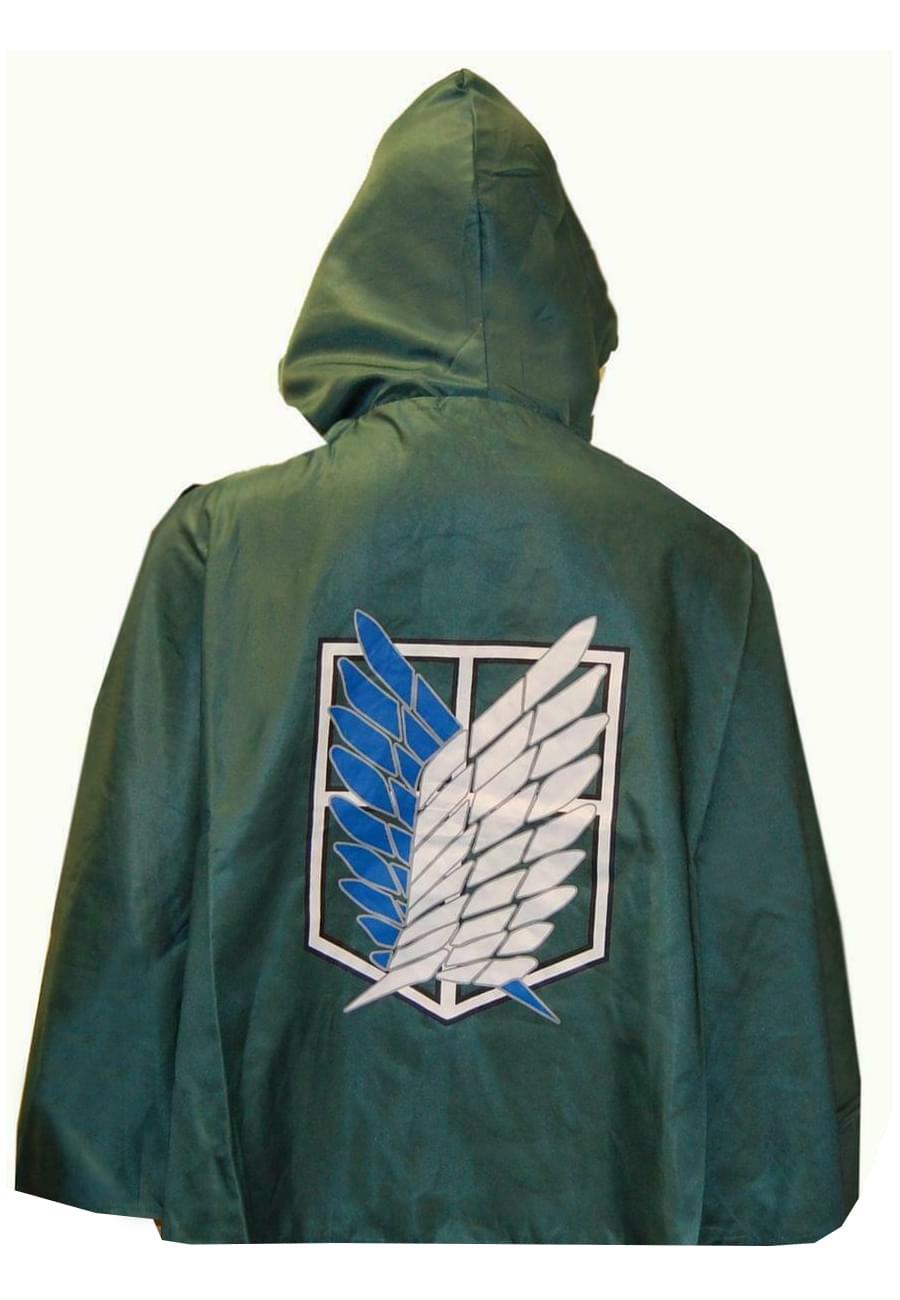 Attack On Titan Shingeki Scouting Legion Cloak Cosplay Costume Cape | eBay