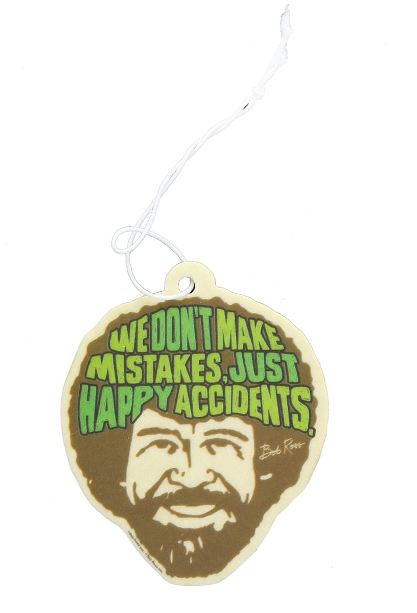 Bob Ross Air Freshener: Happy Accidents