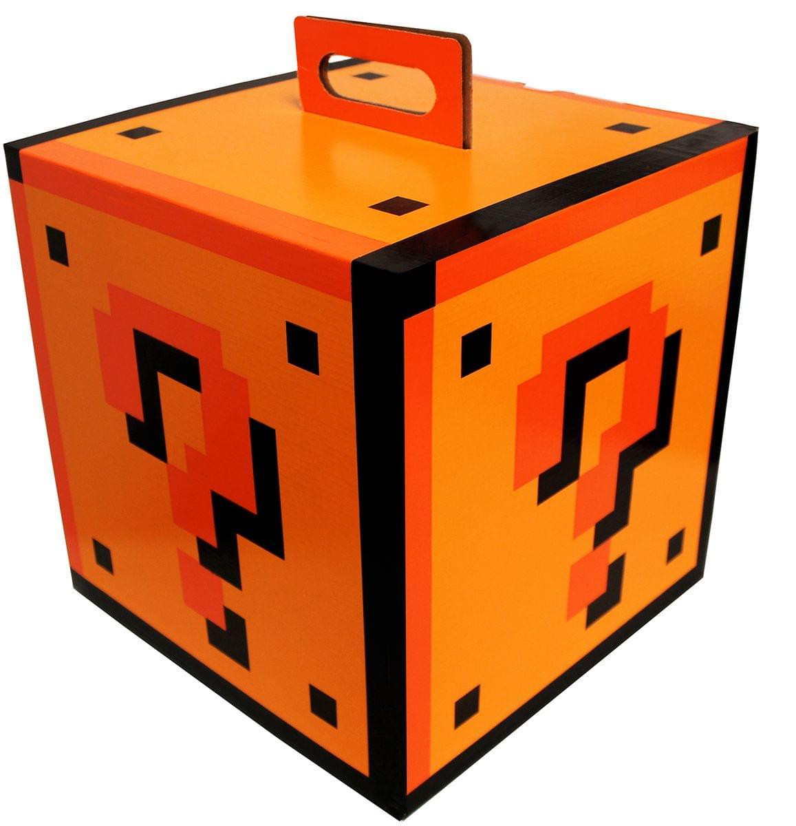 5x5x5 Question Mark Empty Flat Gift Box