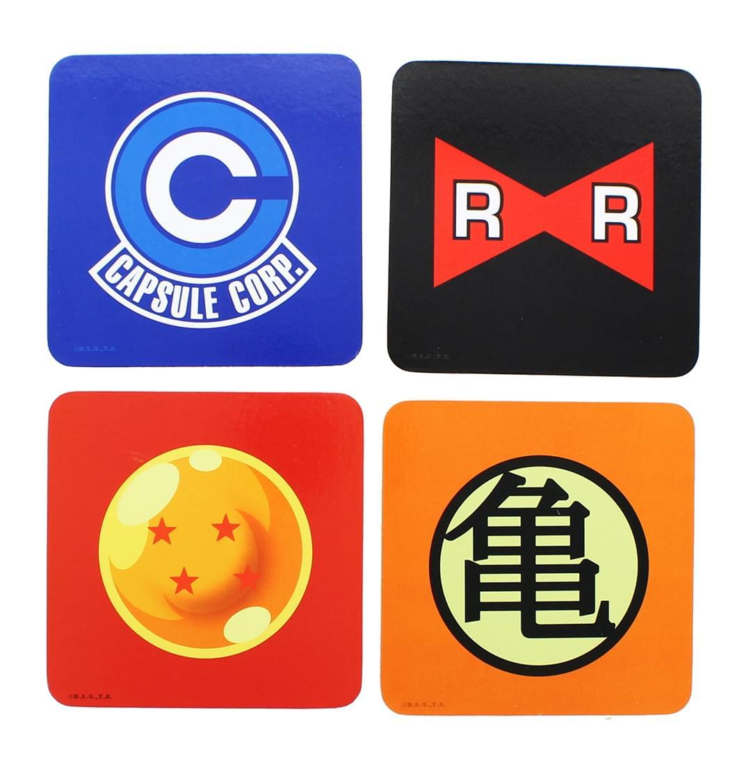 Dragon Ball Z 4-Piece Coaster Set
