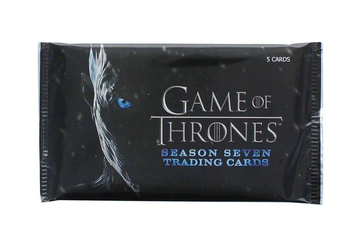 Game of Thones Season 7 Rittenhouse Trading Card Pack - 5 Cards