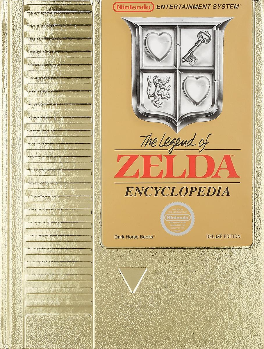 The Legend of Zelda Encyclopedia Deluxe Hardcover Edition
