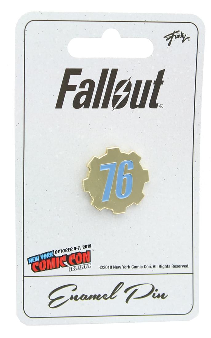 Fallout 76 Enamel Pin NYCC Exclusive
