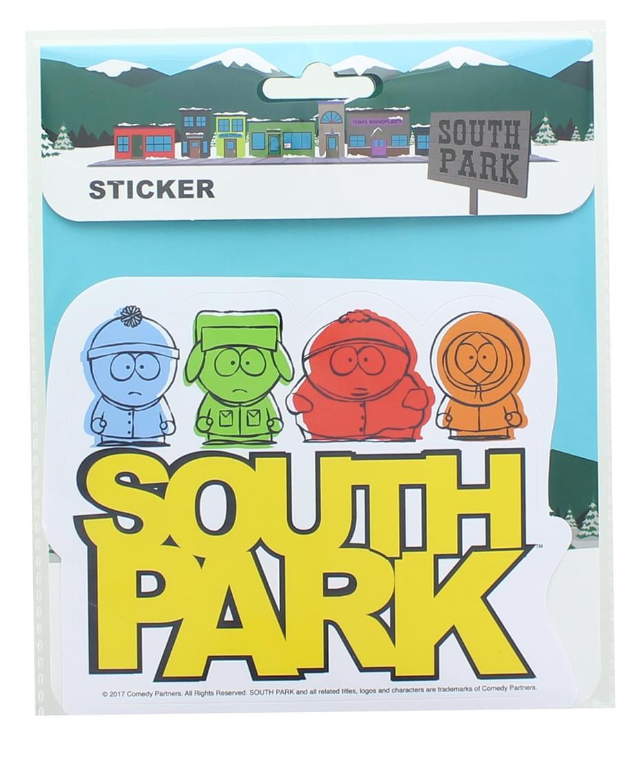 South Park Auto Sticker