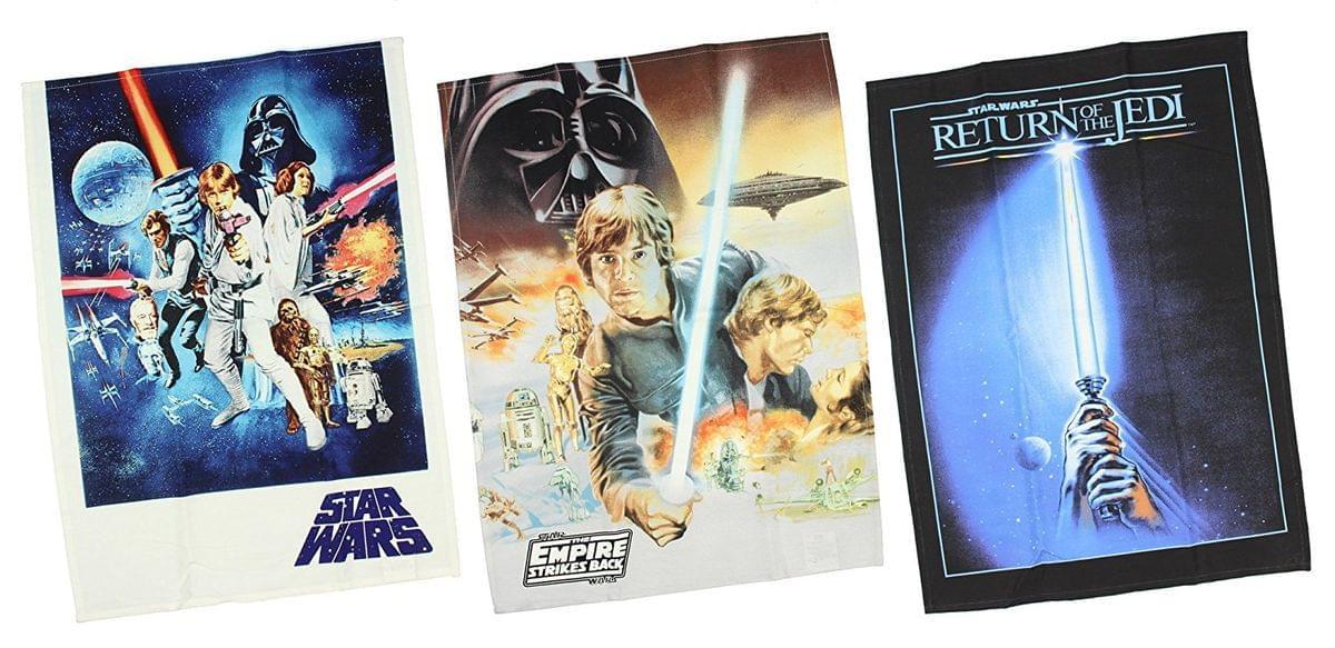 Star Wars 3-Piece Trilogy Posters Kitchen Towel Set