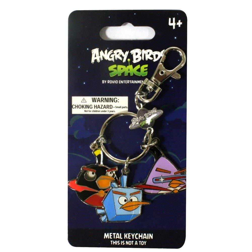 Angry Birds Space Black, Purple, Ice Bird 3-Pack 3.5