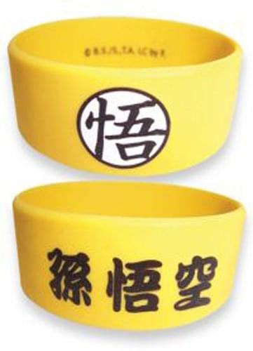 Dragon Ball Z Goku PVC Wristband