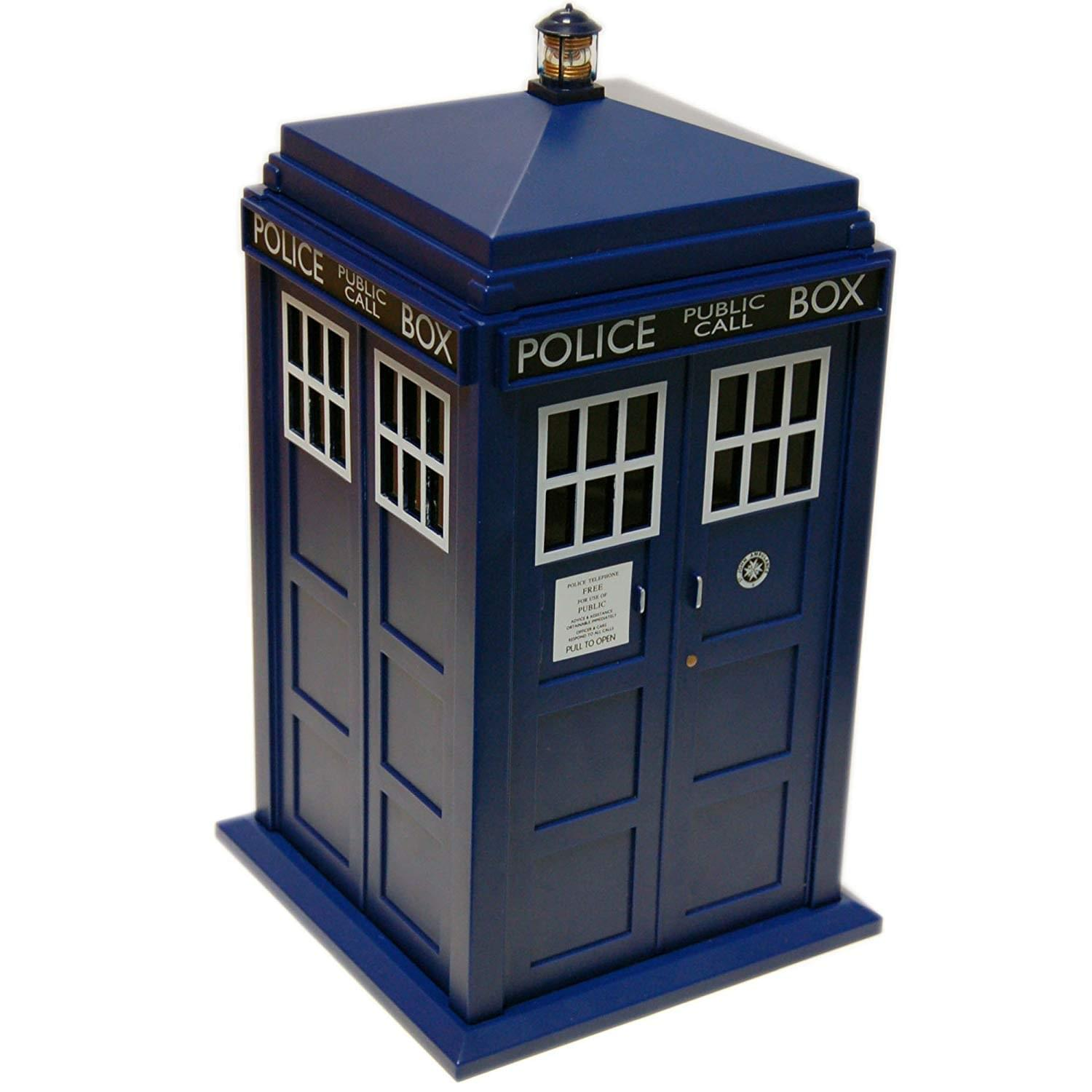 Doctor Who Tardis Cookie Jar with Lights & Sounds